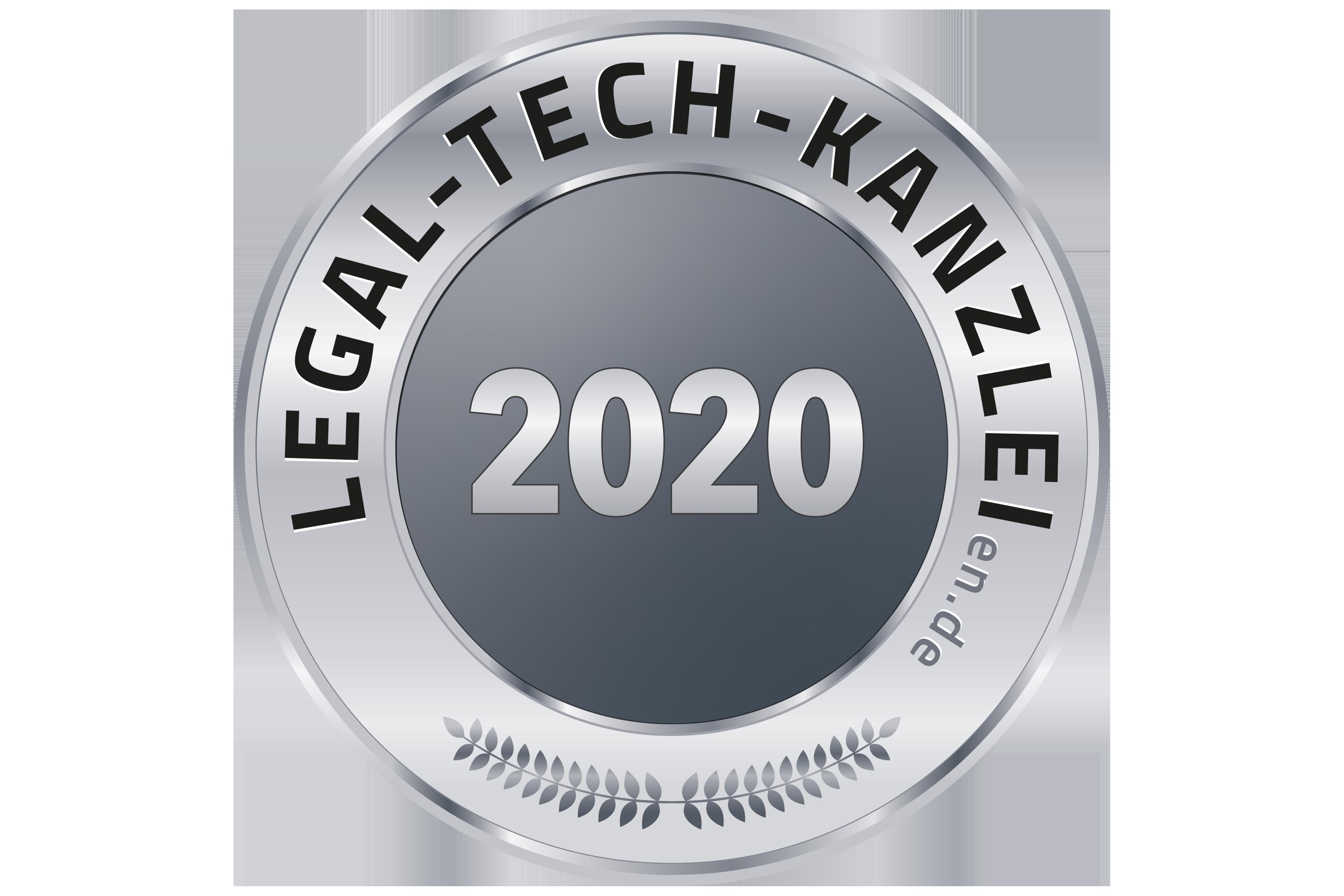 Legal Tech Kanzlei 2020